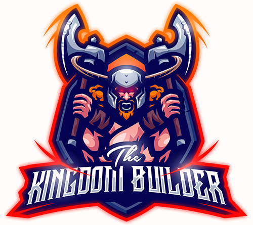 THE KINGDOM BUILDER MASCOT LOGO 1